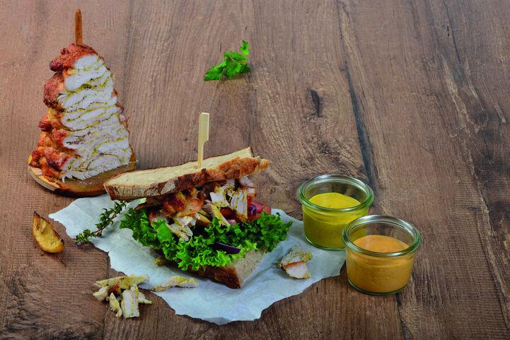 Tischspiess mit Brot 002